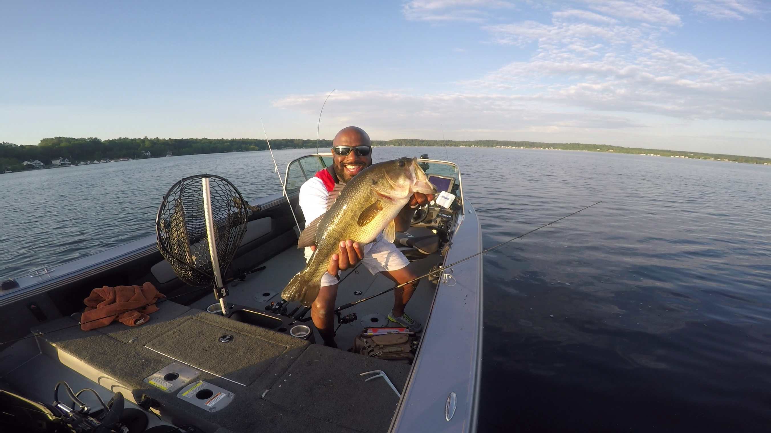 Saratoga lake fishing report for june 10 2017 nate for Saratoga lake fishing