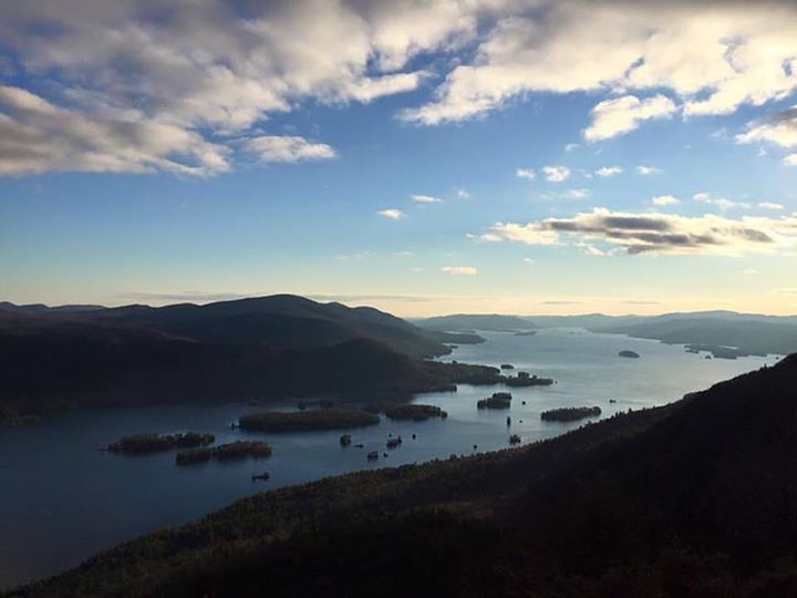 Tongue mountain range offers up some great views along the shoreline of Lake George.…