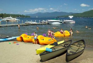 Leaf peeping is fun from the water! Check out these lodging options that will…