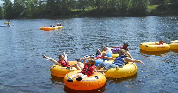 It's hot out there – cool off with a trip down the river this…