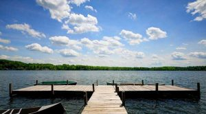 Bring the boat up this fall! Here are some spots with private docks: