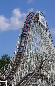 How many rides have you taken on the comet?