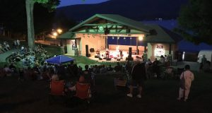 An outdoor stage was first added to Shepard Park 100 years ago!