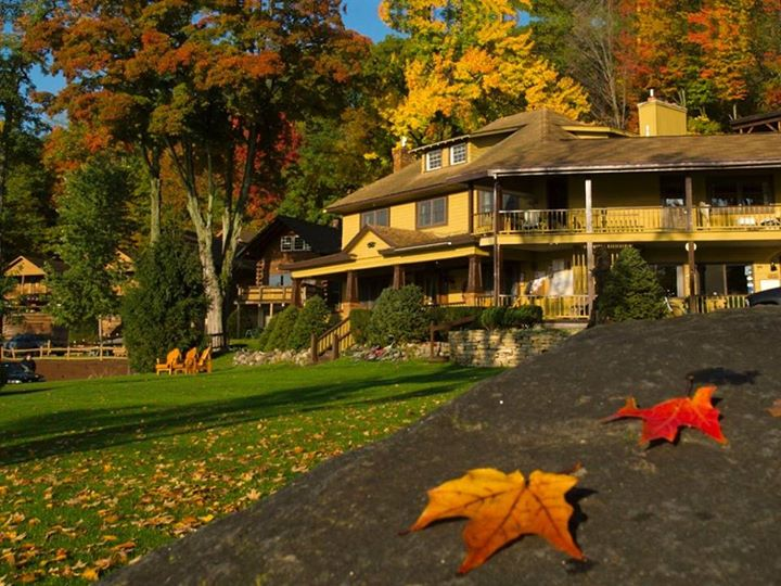 Late Fall special (Oct 22 – Nov 22) at Trout House Village Resort: Stay…