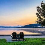A sublime #sunrise along Beach Road in Lake George. (: @helenbmeehan)⠀ ⠀ #lakegeorge #lakegeorgeny…